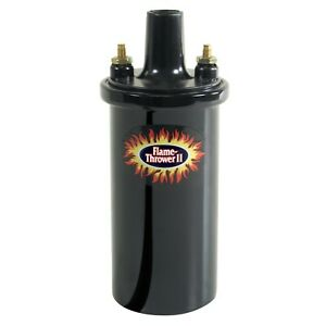 Pertronix 45011 Flame Thrower Ii Coil 45 000 Volt 0 6 Ohm Black