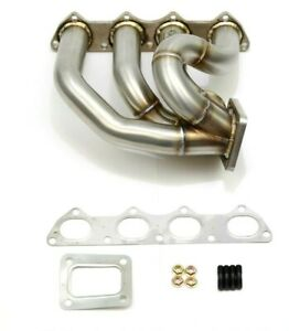 1320 Performance B Series Sfwd Turbo Manifold T4 60mm Wastegate B18 B16 B20