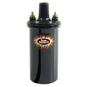 Pertronix 45111 Flame Thrower Ii Coil 45 000 Volt 0 6 Ohm Black Epoxy