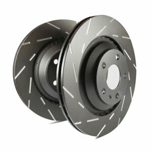 Ebc Usr Slotted Front Rotors For 07 08 Chevrolet Cobalt 2 0 Supercharged Ss