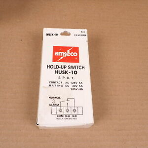 Nos Amseco Husk 10 Hold up Switch W Key 507 010sk