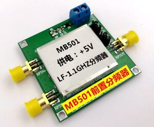 Mb501 1 1ghz High Frequency Prescaler For 64 65 128 129 Frequency Divider