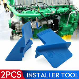 E074 2pc Stretch Aux Belt Removal Installer Tool Set Ribbed Drive Belts Remover