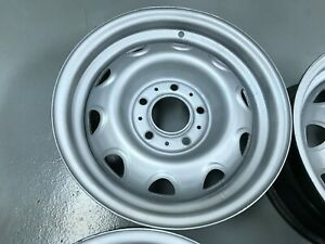 Dodge Mopar Crysler Charger Gtx Cuda 14 X 5 1 2 Rally Wheels 5 X 4 1 2 Bolt Oem