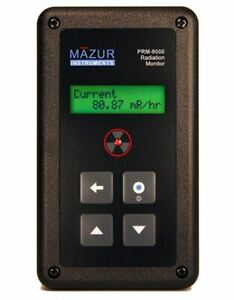 Mazur Instruments Geiger Counter Nuclear Radiation Detector Prm 9000