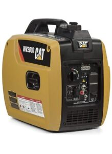Cat Inv2000 1800 Watts Ohv Portable Camping Pull Start Gas Powered Generator