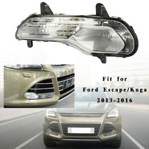Right Front Bumper Fog Light Without Bulb Parts For 2013 2016 Ford Escape Kuga