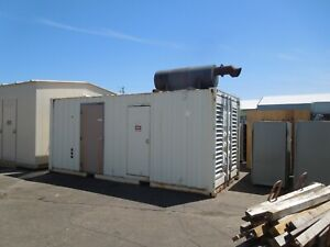 Cummins 500kw 625kva 480 277v 3ph Standby Diesel Ac Generator Outdoor Enclosure