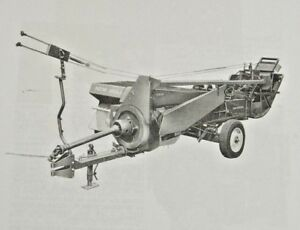 New Holland Square Hay Baler 53 a Bale Thrower Assembly Install Manual 269 273