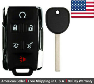 1 New Replacement Keyless Key Fob Remote Control For Chevy Gm 13577766 Gmc