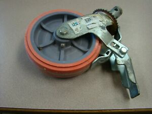 Ust Scaffold Caster Rubber Wheel With Locking Brake