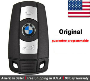 1x Oem Replacement Keyless Remote Key Fob For Bmw Kr55wk49147 Comfort Access
