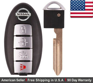 1x Oem Replacement Keyless Entry Remote Control Key Fob For Nissan