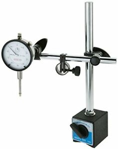 1 In Travel Machinist s Dial Indicator With Magnetic Base