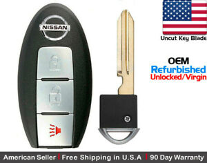 1x Oem Replacement Keyless Entry Remote Control Key Fob For Nissan S180144304
