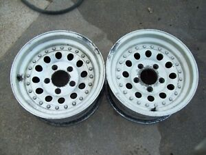 2 15x7 American Racing Wheels 5x127 Chevy 1 2 Ton Truck Bolt Pattern Used Md Usa