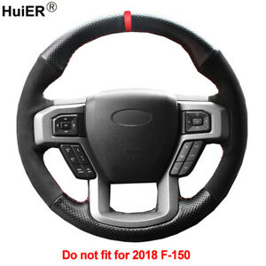 Diy Car Steering Wheel Cover For Ford F 150 2015 2016 2017 King Ranch Lariat