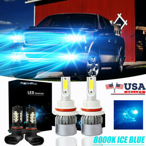 9007 9145 H10 Ice Blue Led Headlight Bulb fog For Ford F 150 99 03 Ranger 01 11