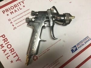 Devilbiss Gti Gravity Feed Hvlp Spray Gun Used