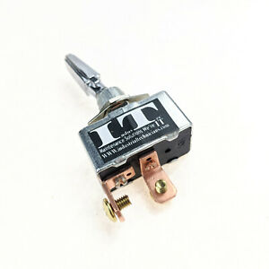 Industec 50a 12v Dc Automotive Toggle Switch Spst On Off Marine High Current