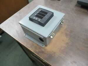 Power Measurement Ion 6200 Power Energy Meter W Enclosure P620ba0a00 3ph Used