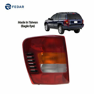 Replacement Tail Light Fit 1999 2004 Jeep Grand Cherokee Driver Side