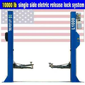 Qyse 10 000 Lb L1000 Two Post Lift Car Auto Truck Hoist European Quality