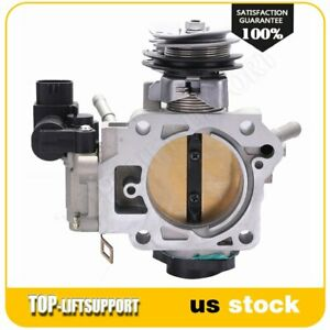 Throttle Body For 2003 2004 2005 Honda Accord Lx Ex Dx Se 2 4l 16400raaa61