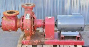 Armstrong Base Mounted End Suction Pump 6x4x13 30hp 3p 230 460v 630gpm