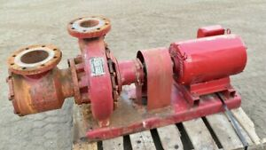 Armstrong 4030 Base Mounted End Suction Pump 6x4x13 30hp 175psi 300