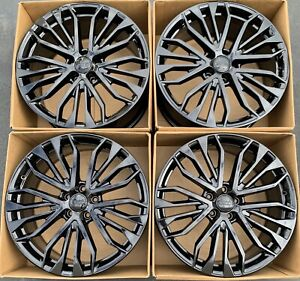 20 Audi S6 A6 Factory Oem Original Wheels Rims 20 4g0 601 025 Gloss Black