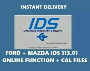 Latest Ford Mazda Ids 2019 113 01 Online Diagnostic Software Native Install
