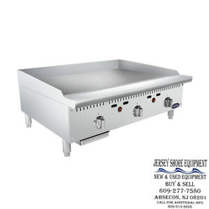 Atosa Attg 36t Hd 36 Thermostatically Controlled Griddle Lp ng Available