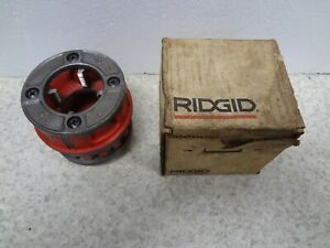 Ridgid 12r Threader Die 37495 1 1 4 Great Condition In Box Free Shipping Nice