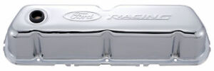Proform 302 070 Valve Covers Steel Chrome ford Racing Logo Ford 351w