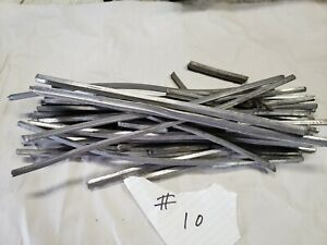 Vintage 10 Lb Of Auto Body Lead solder body Solder From Antique Body Shop 1955