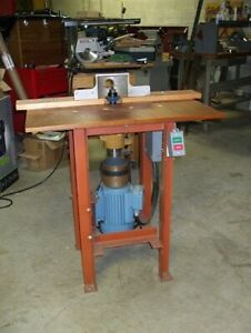 Woodworking Shaper Industrial Quality