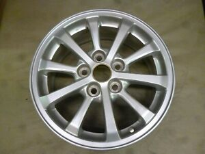 2010 2013 Mitsubishi Lancer 16 Inch Silver Wheel Hollander 99865