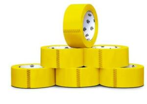 Yellow Packing Tape Rolls Moving Tape 110 Yard X 3 Inch 2mil Thick 12 Rolls