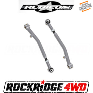 Rubicon Express Super Flex Front Lower Adjustable Control Arms For Jeep Jl Jt