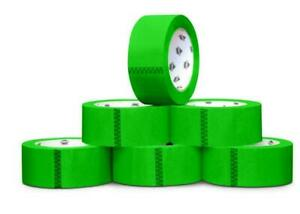 Green Tape Rolls Moving Tape 110 Yard X 3 Inch 2mil Thick 12 Rolls
