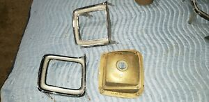 1969 69 Plymouth Satellite Gtx Road Runner Pass Tail Light Bucket Trim Right A