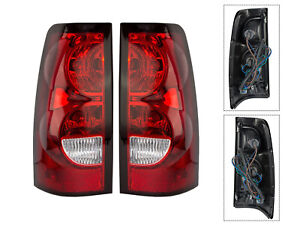 Tail Light Lamps For 04 07 Silverado Truck 1500 2500 3500 Left Right Set