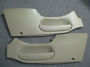 2000 Ford Expedition Eddie Bauer Center Console Side Panels Left