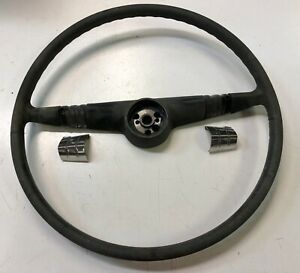 1949 Pontiac Silver Streak 2 D Slant Back Steering Wheel W Stainless Trim