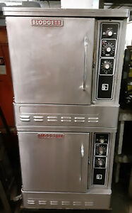 Blodgett Double Deck Ovens 27500 Btu Commercial Nsf Single Phase Natural Gas