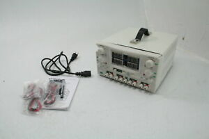 Extech 382270 Quad Output Dc 4 In 1 Power Supply White Adjustable For Parts