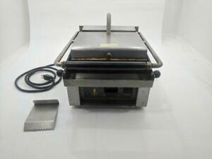 Equipex Savoy 13 Sodir Countertop Commercial Electric Panini Press Grill Maker