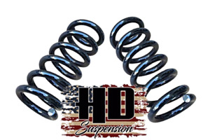 1988 1998 Chevy Gmc C1500 3 Front Lowering Coil Springs Drop Kit