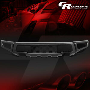 Raptor Style Heavy Duty Steel Front Bumper Face Bar For 15 18 Ford F150 Pickup
